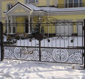 Кованые ворота №30
