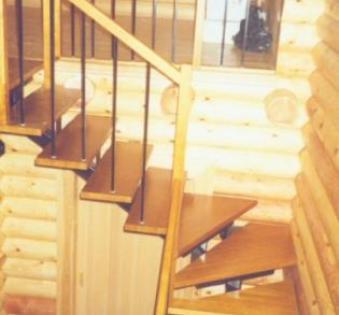 Интерьерная лестница №30