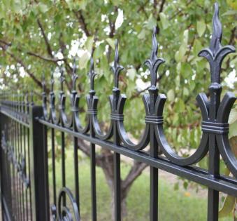 Кованый забор №68