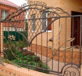 Кованый забор №69