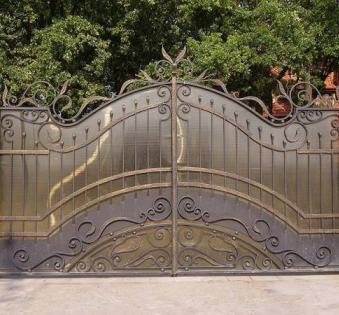 Кованые ворота №33
