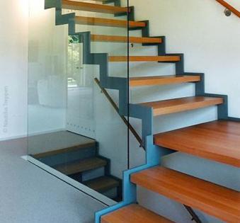 Интерьерная лестница №33
