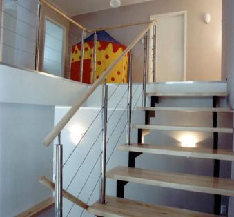 Интерьерная лестница №34