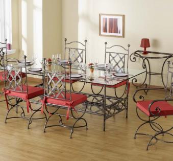 Кованые скамейки и мебель №34