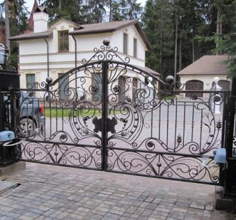 Кованые ворота №35