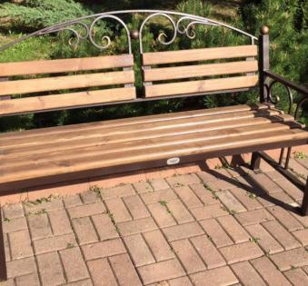 Кованые скамейки и мебель №33