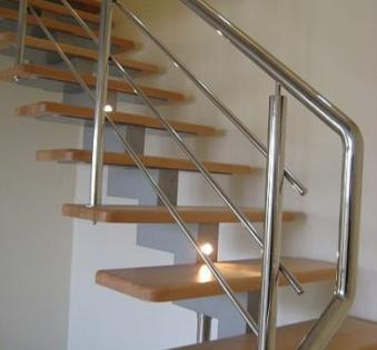 Интерьерная лестница №35