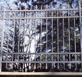 Кованый забор №36