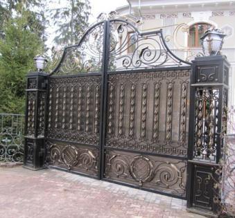 Кованые ворота №36