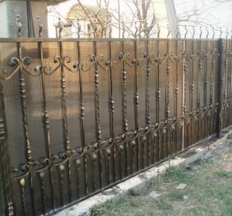 Кованый забор №72