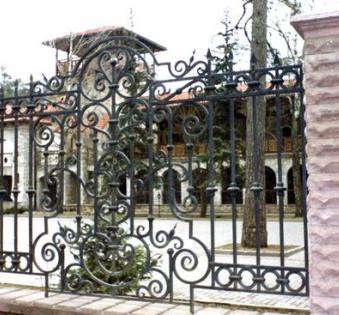 Кованый забор №37