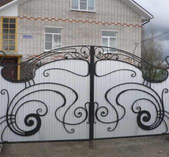 Кованые ворота №37