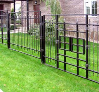 Кованый забор №38