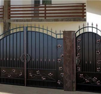 Кованые ворота №38