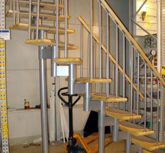 Интерьерная лестница №38