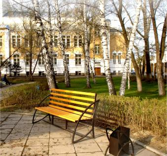Кованые скамейки и мебель №39