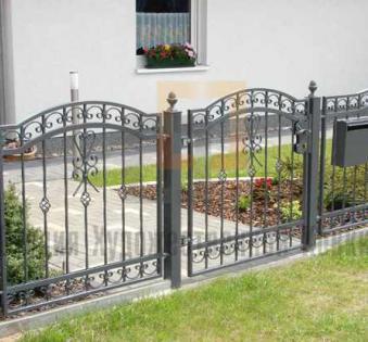 Кованый забор №39