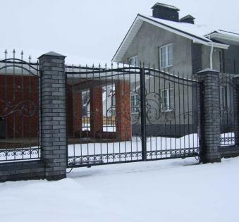 Кованые ворота №39