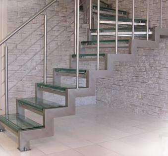 Интерьерная лестница №39