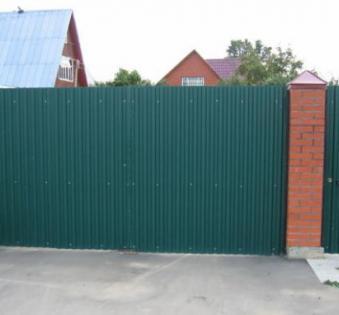 Уличные ворота №3