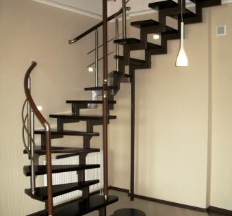 Интерьерная лестница №3