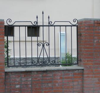 Кованый забор №40