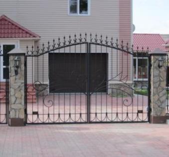 Кованые ворота №40