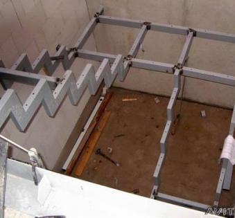 Интерьерная лестница №40
