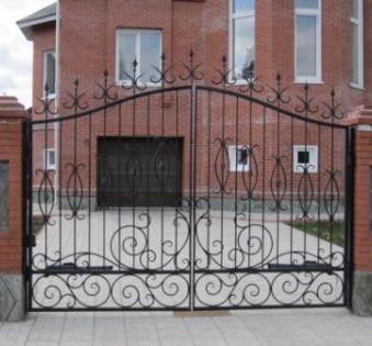 Кованые ворота №41