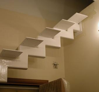 Интерьерная лестница №41