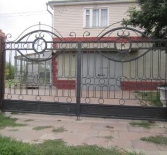 Кованые ворота №42