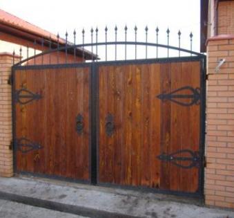 Кованые ворота №43