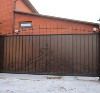 Кованые ворота №44