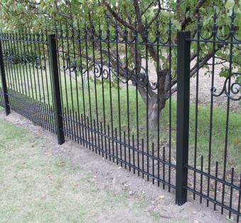 Кованый забор №80