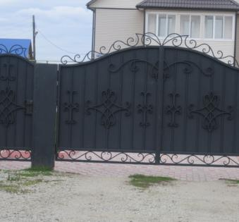 Кованые ворота №47