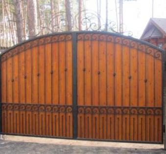 Кованые ворота №48
