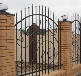Кованый забор №81