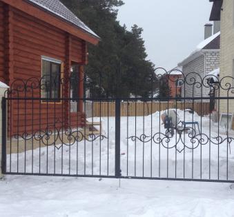 Кованые ворота №49