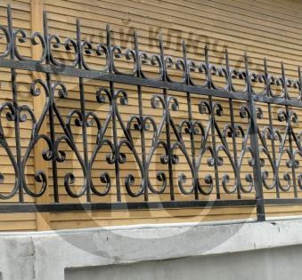 Кованый забор №4