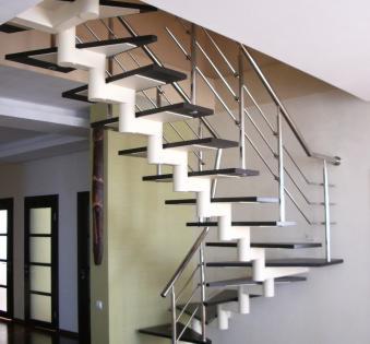 Интерьерная лестница №4