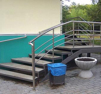 Уличная лестница №4