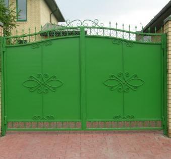 Кованые ворота №50
