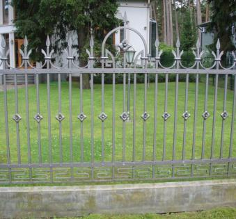 Кованый забор №83