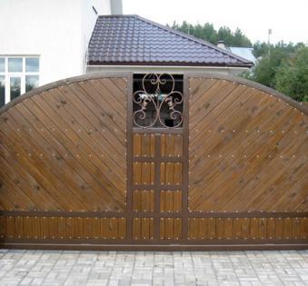 Кованые ворота №51