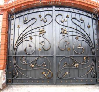 Кованые ворота №52