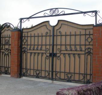 Кованые ворота №53
