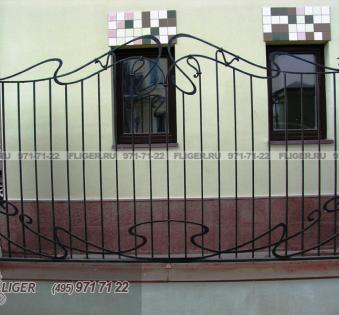 Кованый забор №87