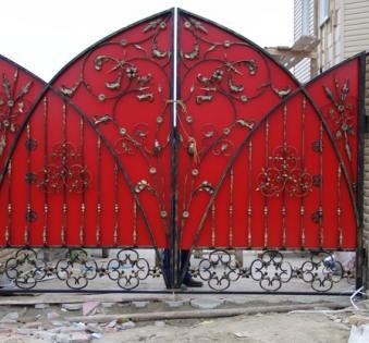 Кованые ворота №54
