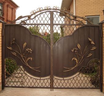 Кованые ворота №55