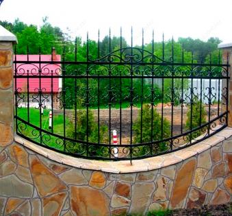 Кованый забор №90